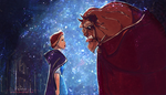 Beauty and the Beast by valar1a