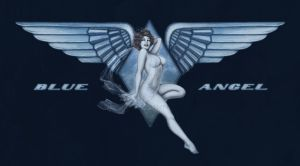 Blue Angel Pinup by MyBeautifulMonsters