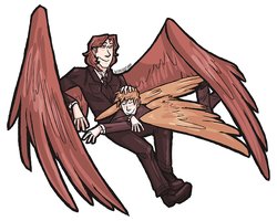 spn - angel!boys by samalambis