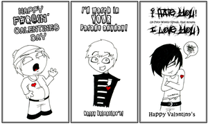 EMO VALENTINES FTW by CaptainSpaz
