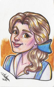 Belle by Blueberry-me