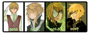 Progress Chart: Ezekiel by Mafurako