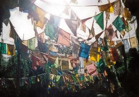 prayer flags by Wrzos2985