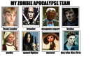 My zombie apocalypse team by Lirael-Mayfair
