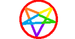 Gay Satanist stamp by G0R3L0RD
