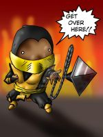 lil Scorpion by Sadie-ink