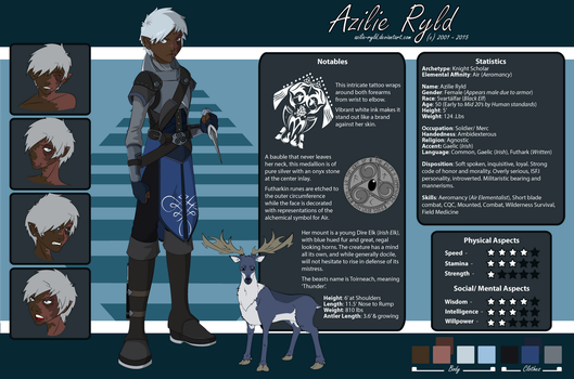 Azilie Character Sheet by Azilie-Ryld