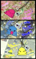 Unchi Poo charms by Akusesu