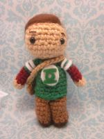 Little Sheldon Cooper Big Bang Theory Amigurumi by Spudsstitches