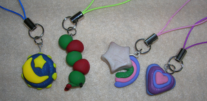 Miscellaneous Phone Charms by mistoftime