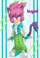OC - Cat I by InGriid-Chan