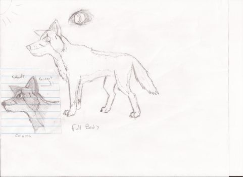 Wolf uncolored by fragozo