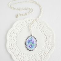 Flower pendant by WhiteSquaw