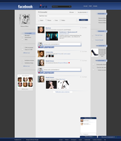 Facebook Re-Design by Linds37