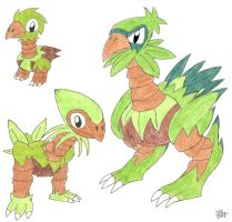 Grass Starter by FakeJon