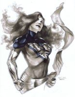 Dark Phoenix Con Sketch by RichardCox