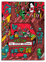 MOVIE ARCHIVE LIBRARY by laresistance