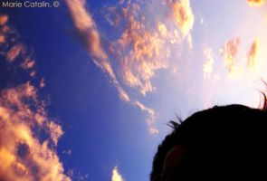 under the sky ._. by algodonada