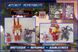 AUTOBOT MONSTERBOTS HECHOS EN CARTULINA by Paperman2010