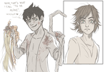 Dark!Jack and Hiccup by ASAMESHII