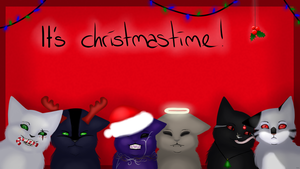 Christmastimeeee. by KarashiaWolf