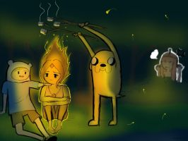 Lovin Time (ADVENTURE TIME) :Final: by ZolaLink
