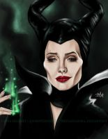 Maleficent by TheTanyaDoll