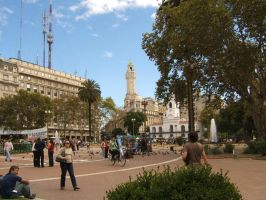 Plaza de Mayo by mirator