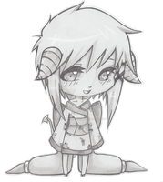 .: Chibi Hodoka :. by Nocturnally-Blessed
