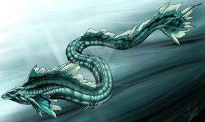 Sea Serpent by VaraAnn