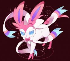 Sylveon/NInfia Gen6 Eeveelution by IzayaOrihara1996
