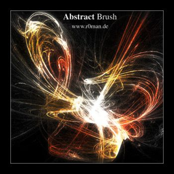 Abstract Brushset 2 - GIMP by r0man-de