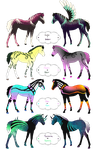 Foals for AshleyInspirations by Drasayer