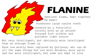Flanine For Griffsnuffs Event by BudCharles