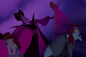 Jafar charming the ladies