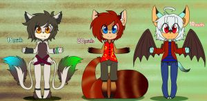 2# Adoptables by Gaby-Kagamine-cat