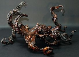 'Cephalopod' second side view by bronze4u