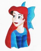 Ariel Drawing~ by Spooneh21