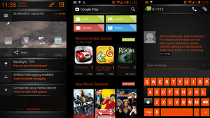 Dark Fire Theme Updated With Themed Google Play by nitinvaid20
