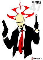 The Silent Assassin - Hitman by kerissakti