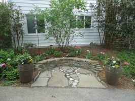 Tree of Life garden seating area by Devine-Escapes