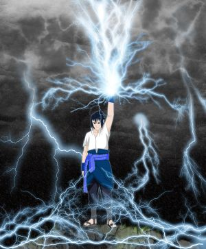 Sasuke's Dragon Lightning