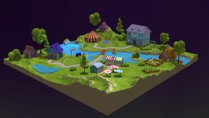 TOON Microworld [game concept] by light-adept