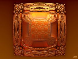 Orange Cube by jccrfractals