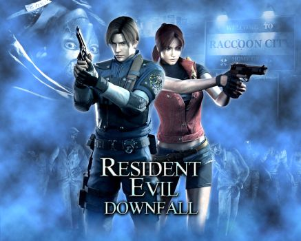Resident Evil: Downfall HD Wallpaper by CuttingEdge93