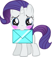 Filly rarity has a crush on you![Requested] by PureZparity
