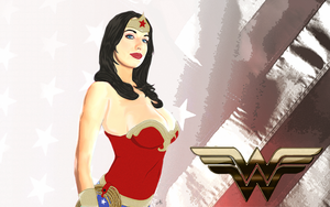 Wonder Woman by barcodedmaggot