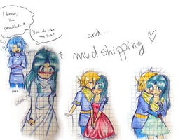 imil and mudshipping sketch by Sally78