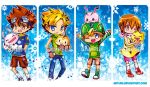 Digimon Bookmarks by jinyjin