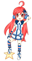 SF-A2 Miki pixeled? by Music-dog
